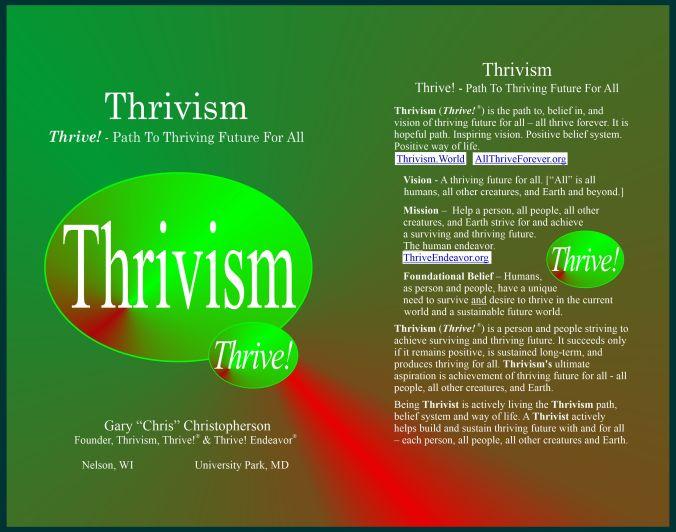 New Thrivism book